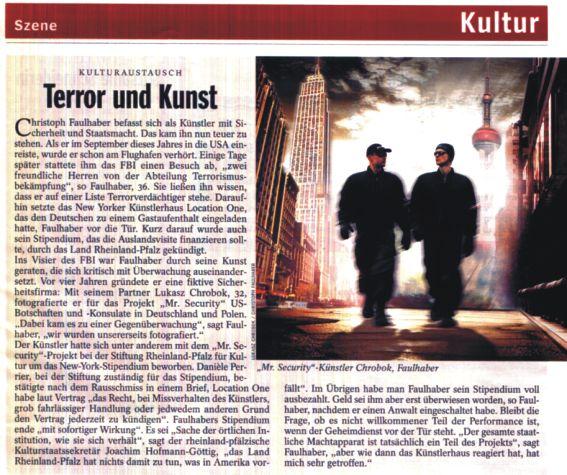Der Spiegel, Dez. 2008