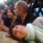Robin Horsch, Julia Willms, Eberhard Ross, Marcela Böhm (liegend)