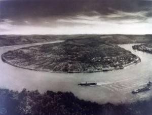 August Sander: Die Rheinschleife bei Boppard
